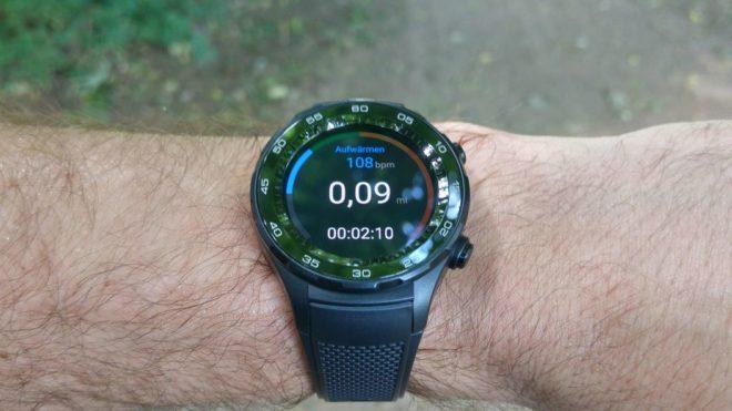 Huawei Watch 2 Fitnessüberblick