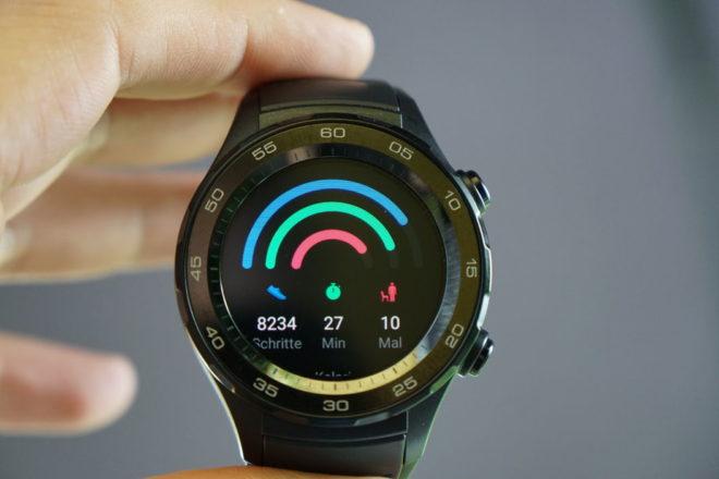 Huawei Watch 2 Tagesaktivitäten