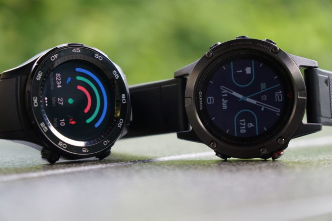 Huawei Watch 2 vs Fenix 5