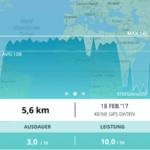 Run Profiler App - Auswertung