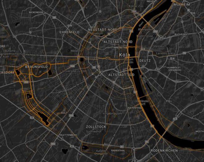 Köln Heatmap