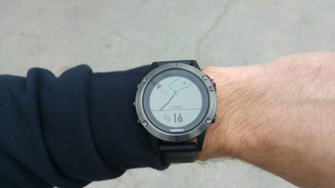 Garmin Fenix 5 Test: Navigation