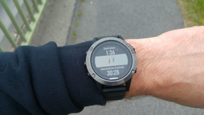 Garmin Fenix 5: Virtueller Partner