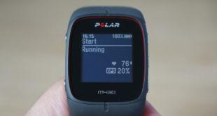 Test Polar M430: Laufen
