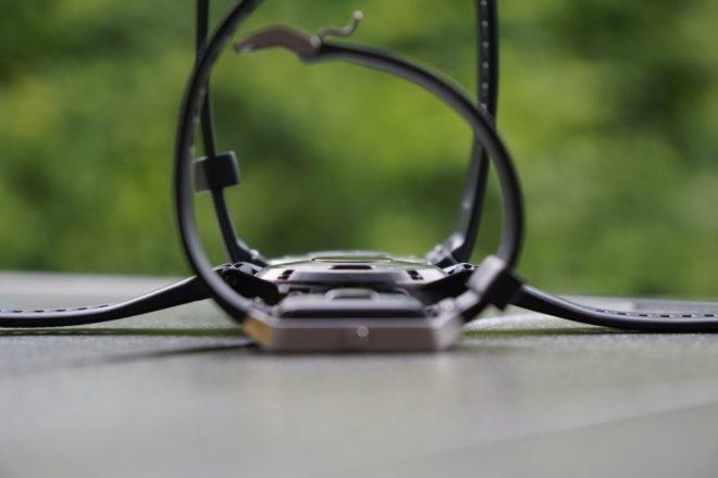 Fitbit Blaze (vorne) - Garmin Fenix 5 (mitte) - Huawei Watch 2