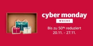 Amazon Cyber Monday & Black Friday 2017 (Bild: Amazon)