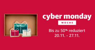 Amazon Cyber Monday & Black Friday 2017 (Bild: Amazon)
