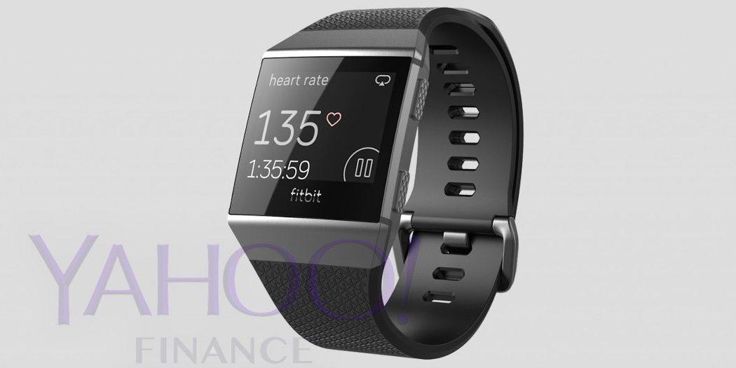 Project Higgs: Fitbits neue Smartwatch (Screenshot: finance.yahoo.com)