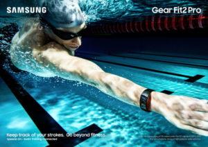 Samsung Gear Fit2 Pro (Bild: Samsung)