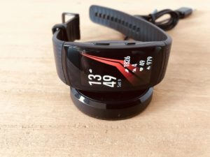 Samsung Gear Fit2 Pro Ladestation