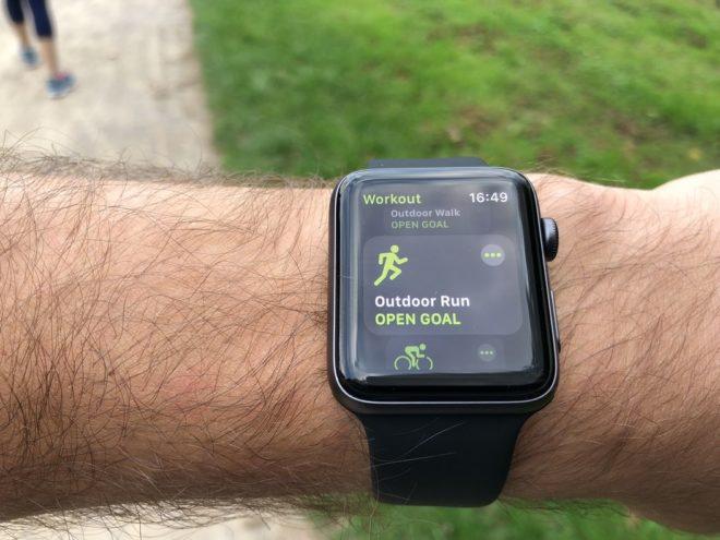 Apple Watch 3 Test: Laufen