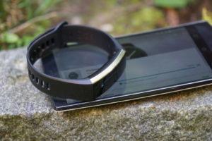 Bestes Fitness-Armband Platz 7: Huawei Band 2 Pro
