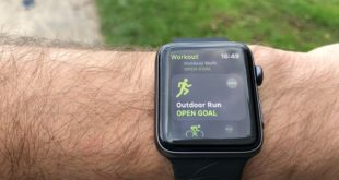Apple Watch 3 Lauftest