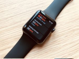 Apple Watch 3 Pulsmesser Daten