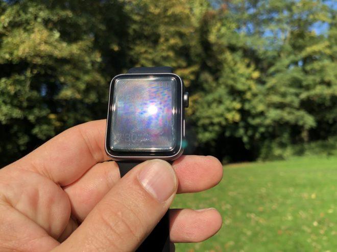 Apple Watch 3 - Direkte Sonneneinstrahlung