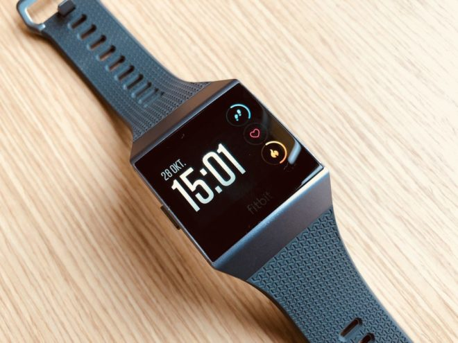 Fitbit Ionic Test - Display