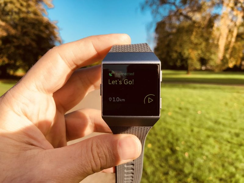 Fitbit Ionic Test - GPS