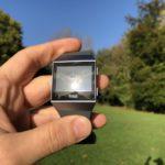 Fitbit Ionic - Direkte Sonneneinstrahlung