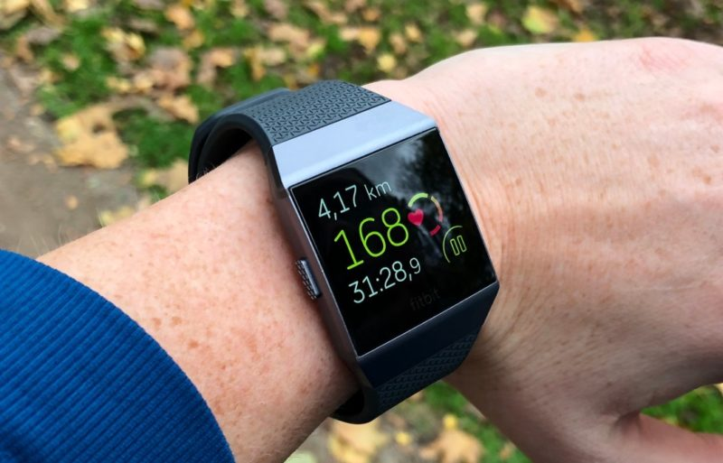 Fitbit Ionic Pulsmesser