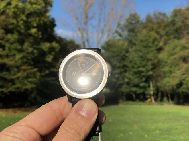 Vivoactive 3 - Direkte Sonneneinstrahlung
