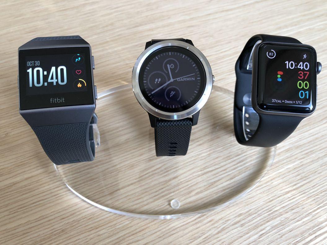 Fitbit Ionic Vs Apple Watch 3 Vs Garmin Vivoactive 3 Welche Soll Ich Nehmen Fitnessmodern De Ischf