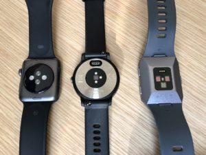 Apple Watch 3 vs Garmin Vivoactive 3 vs Fitbit Ionic