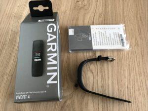 Garmin Vivofit 4 Unboxing