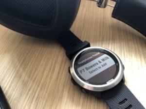 Garmin Forerunner 645 Test: Kopplung mit Bluetooth Kopfhörern