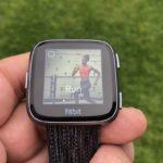 Fitbit Versa Test: Laufen