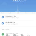 Xiaomi Mi Band 3: Mi Fit App