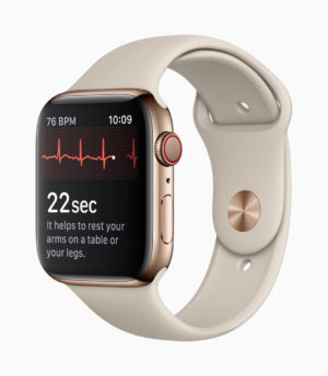 Apple Watch 4 EKG (Bild: Apple)