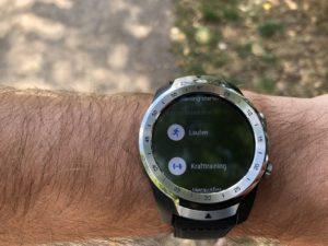 Mobvoi Ticwatch Pro Test: Laufen