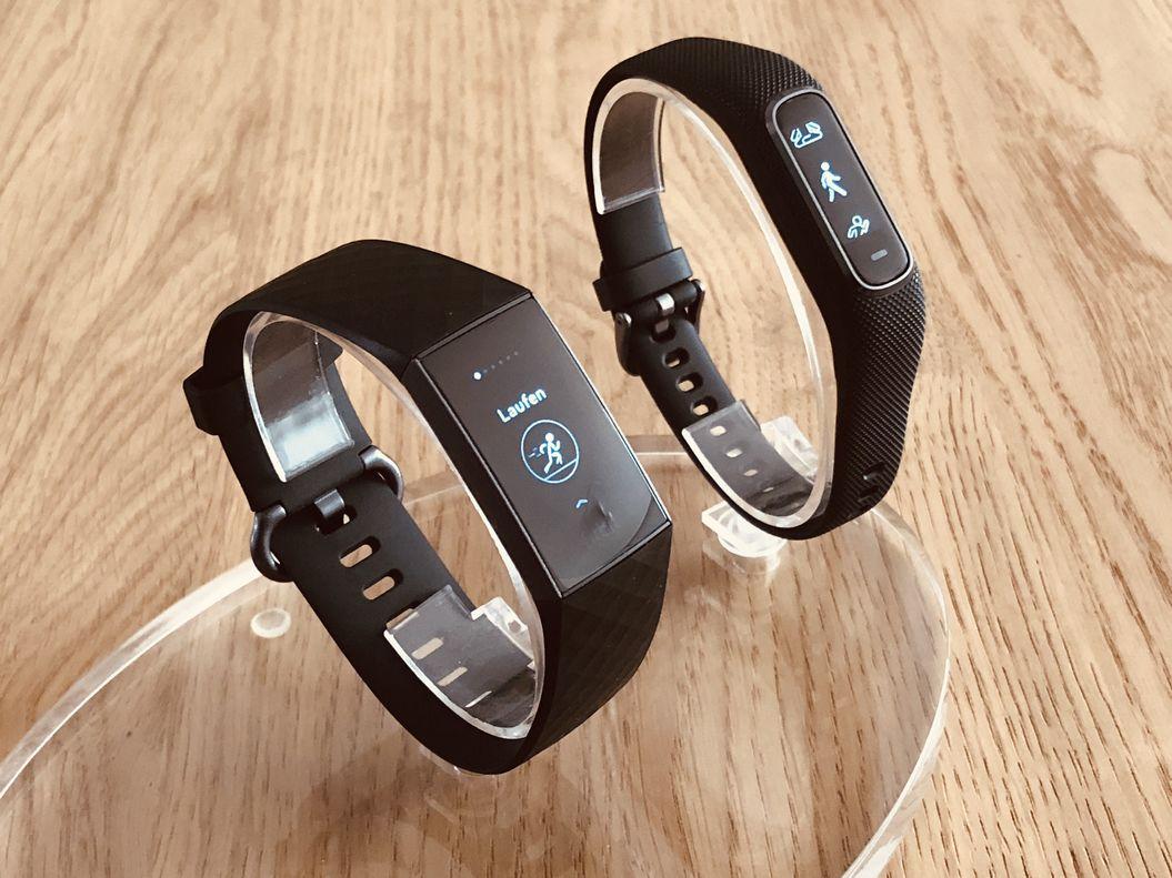 Fitbit Charge 3 vs Garmin Vivosmart 4: Welchen nehme ich