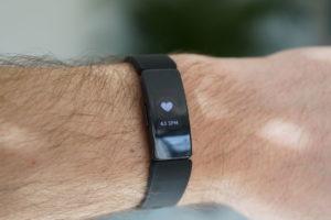 Fitbit Inspire HR: Pulsanzeige
