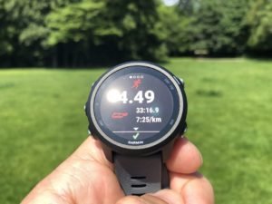 Garmin Forerunner 245 Test: Display
