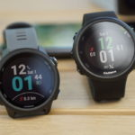 Garmin Forerunner 245 (links) vs Forerunner 45 (rechts)