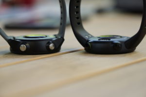 Garmin FR245 (links) vs FR45 (rechts)