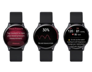 Samsung Health Monitor App (Bild: Samsung)