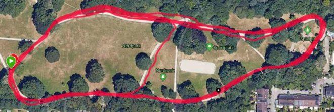Garmin Vivoactive 4: GPS Genauigkeit
