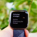 Fitbit Versa 2: Trainings-Optionen
