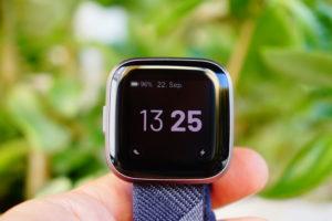 Fitbit Versa 2: Alwas-on Display