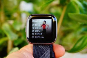 Fitbit Versa 2: Trainings-Zusammenfassung
