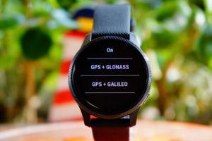Garmin Venu: GPS-Einstellungen