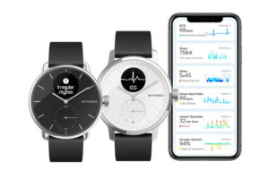 Withings ScanWatch und Health Mate