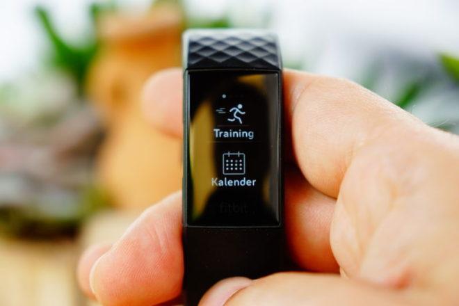 Fitbit Charge 4: Aktivität starten