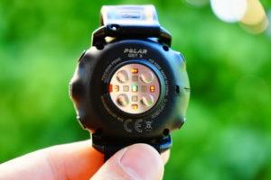 Polar Grit X: Sensoren für Pulsmessung