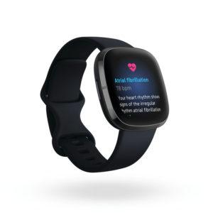 Fitbit Sense: Anzeichen Vorhofflimmern (Bild: Fitbit)
