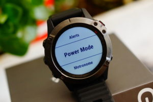 Garmin Fenix 6: Power Modes
