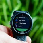Garmin Forerunner 745: Triathlon-/Multisportmodus