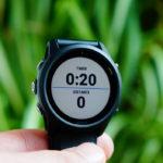 Garmin Forerunner 745 Triathlonmodus: Gesamtzeit/-distanz